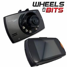 "Cheap Dash Cam Camera Recorder Pro CoPilot 2.4"" Screen Video Sound Recording"