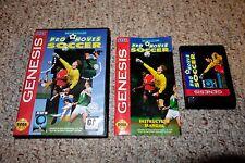 Pro Moves Soccer (Sega Genesis, 1994) Complete