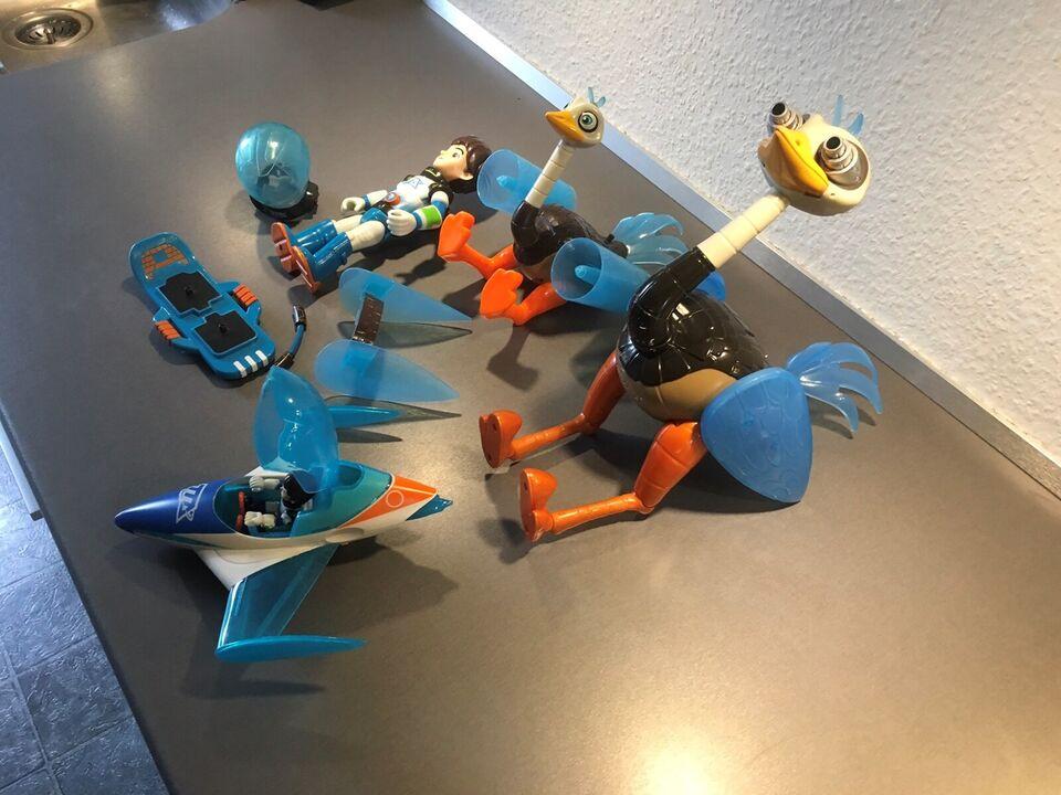 Miles fra morgendagen legetøj, Disney