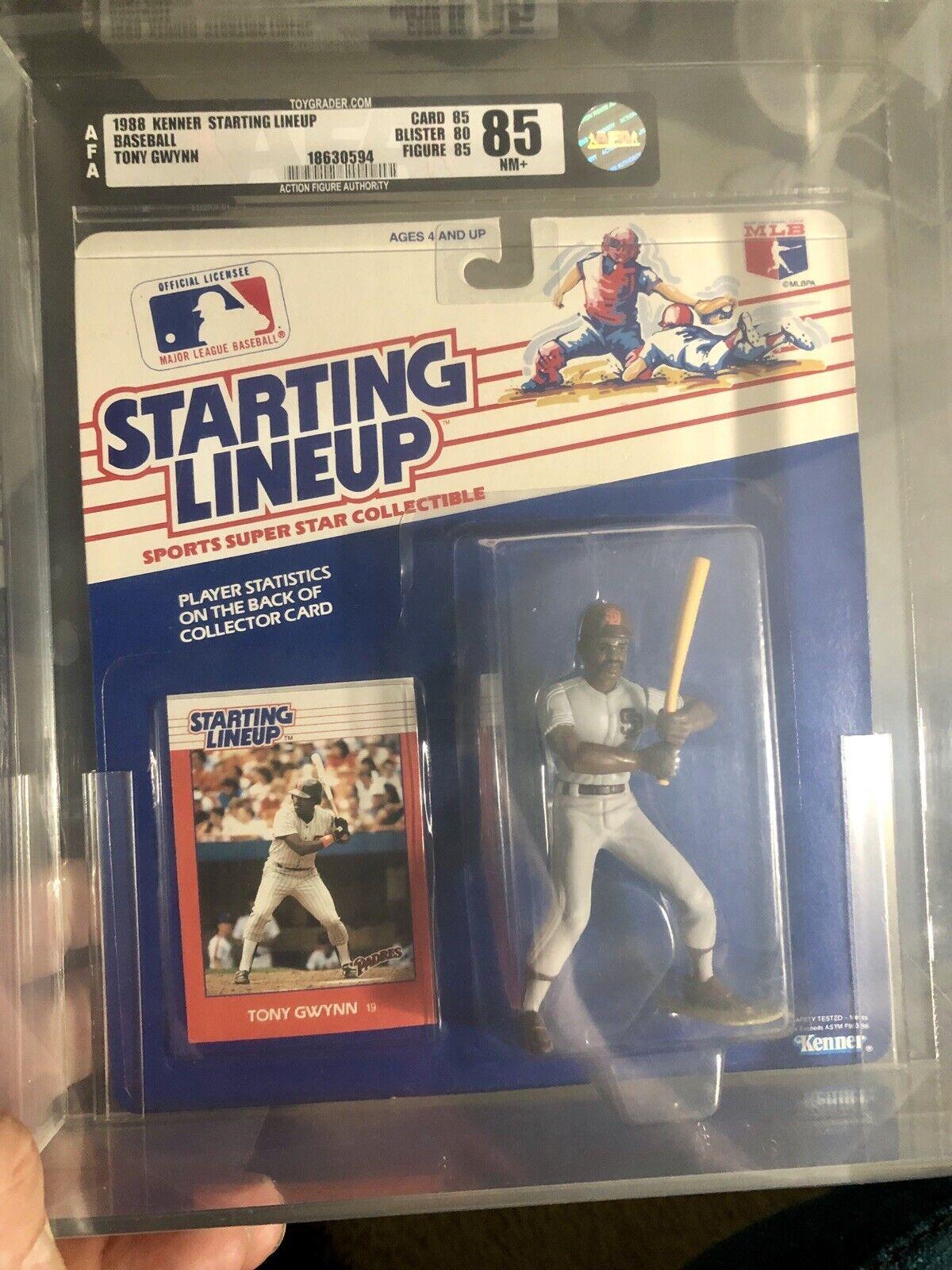 1988 Tony Gwynn 1st Edition Kenner Starting Lineup  classés figurine Autorité 85  Line Up  grandes marques vendent pas cher