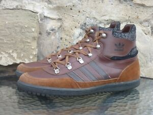 81fc2a5a802a2 Details about Vintage Adidas Feldberg UK 8 Made In Yugoslavia OG trekking  tobacco holiday zurs