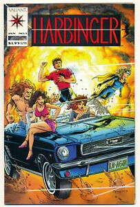 Valiant-Harbinger-Issue-1-Comic-Book-9-0-VF-NM-1992