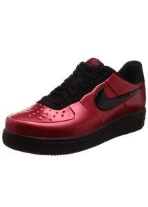 vente chaude en ligne e2c52 6f1ec Détails sur Nike Air Force 1 Af1 Foamposite Pro Bonnet Hommes Taille 10 Gym  Rouge Noir