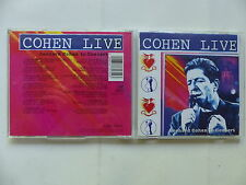 CD Album LEONARD COHEN Live in concert 477171 2