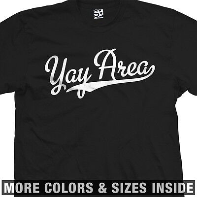 Yay Area Baseball SF Bay T-Shirt All Colors 2X 3X 4X 5X
