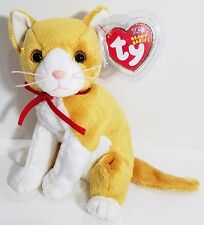 """TY Beanie Babies """"TANGLES"""" the Cat - MWMTs! Great Gift! CHECK OUT MY BEANIES!"""