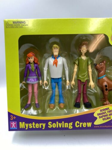 Nouveau Scooby Doo Mystery Solving Crew 5 Figurine articulée Action ensemble NEUF