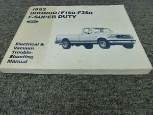 image is loading 1992-ford-f250-f350-super-duty-truck-electrical-