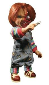 Child-039-s-Play-Chucky-Puppe-15-034-Talking-Pizza-Face-Chucky