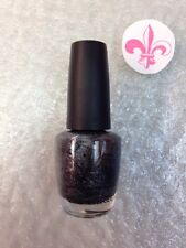OPI Nail Polish Lacquer Lucernetainly Look Marvelous NL Z18 Silver Dark Grey