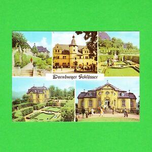 Ansichtskarte-DDR-Dornburger-Schloesser