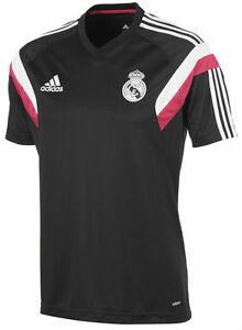 61aa83363c906 Image is loading ADIDAS-REAL-MADRID-TRAINING-JERSEY-2014-15