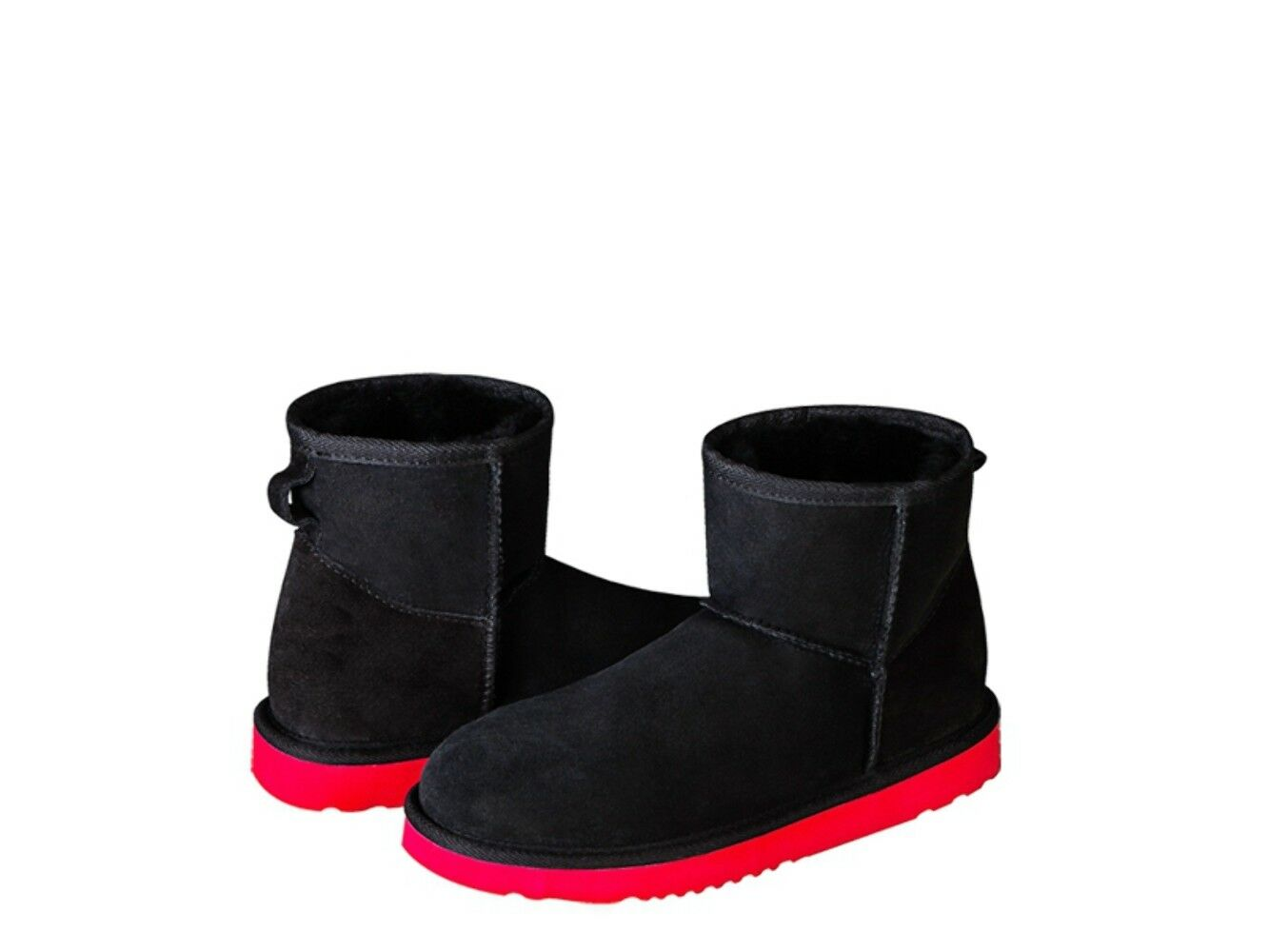 AUSTRALIAN ORIGINAL ® CLASSIC MINI R&B Australia. SHEEPSKIN Stiefel. Made in Australia. R&B 37237a