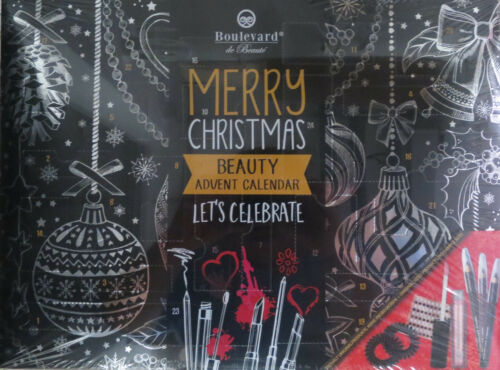 BOULEVARD ADVENTSKALENDER MERRY CHRISTMAS LET´S CELEBRATE BEAUTY KALENDER