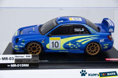 Details about  /Kyosho MINI-Z Body SUBARU IMPREZA WRC 2002 MZP143WR Blue FINE HAND POLISH Rare