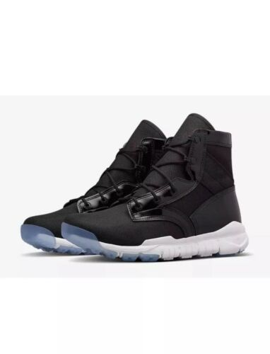 Nike SFB SP Special Field Boots Concord Black Patent Clear 729488-001 Size 9