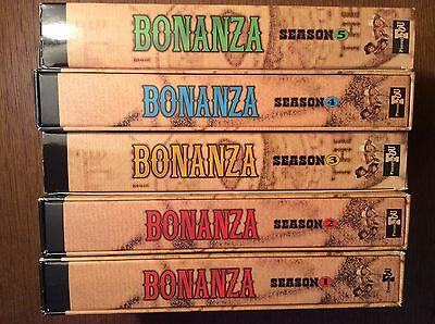 Bonanza - Die komplette  Staffel  1 2 3 4 5 [ 40 DVD ] Folge 1 - 168 / Ponderosa
