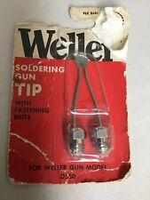 Weller Soldering Gun Tip For Weller D550 Soldering Guns New Older Package