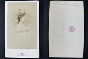 Le Jeune, Paris, Princesse Murat Vintage cdv albumen print Tirage albuminé