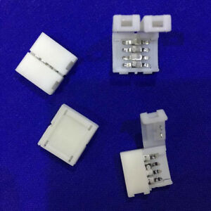 10Pcs-Mini-4-Pin-Rgb-Connector-Adapter-For-Rgb-5050-Led-Strip-Solderless-10Mm-BF
