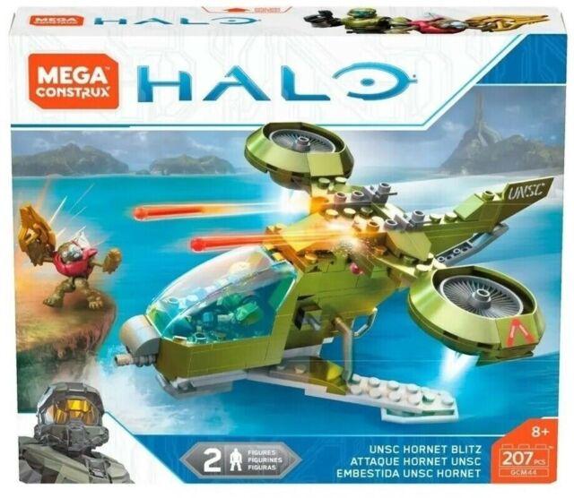 HALO UNSC Hornet Blitz (GCM44) 207 pcs BUILDING SET by MEGA CONSTRUX RARE! LQQK!