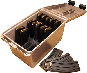 NEW! MTM Tactical Mag Can for 223/5.56 Magazine Storage TMC15....