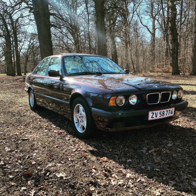 BMW 520i, 2,0 Executive Touring, Benzin, 1995, km 187000,…