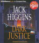 Dark Justice by Jack Higgins (CD-Audio, 2010)