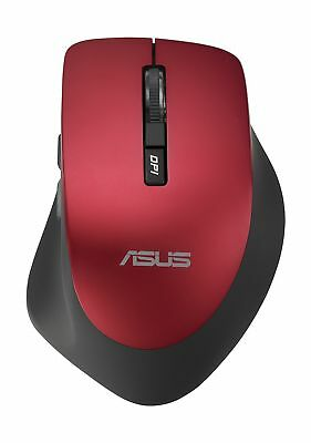 ASUS WT425 Wireless Optical Mouse Red