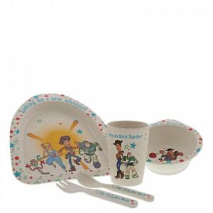 Disney-Toy-Story-4-Organic-Bamboo-5-Piece-Dinner-Set