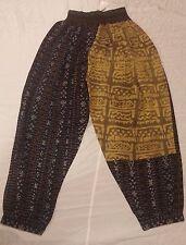 KUSNADI IKAT/MUD CLOTH COMBINATION PANTS