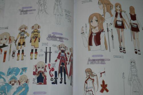 "JAPAN TV Animation Sword Art Online Guide Book /""Sword Art Online no Subete/"""