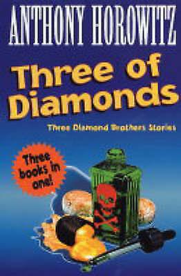 """""""AS NEW"""" Three Of Diamonds, Horowitz, Anthony, Book"""