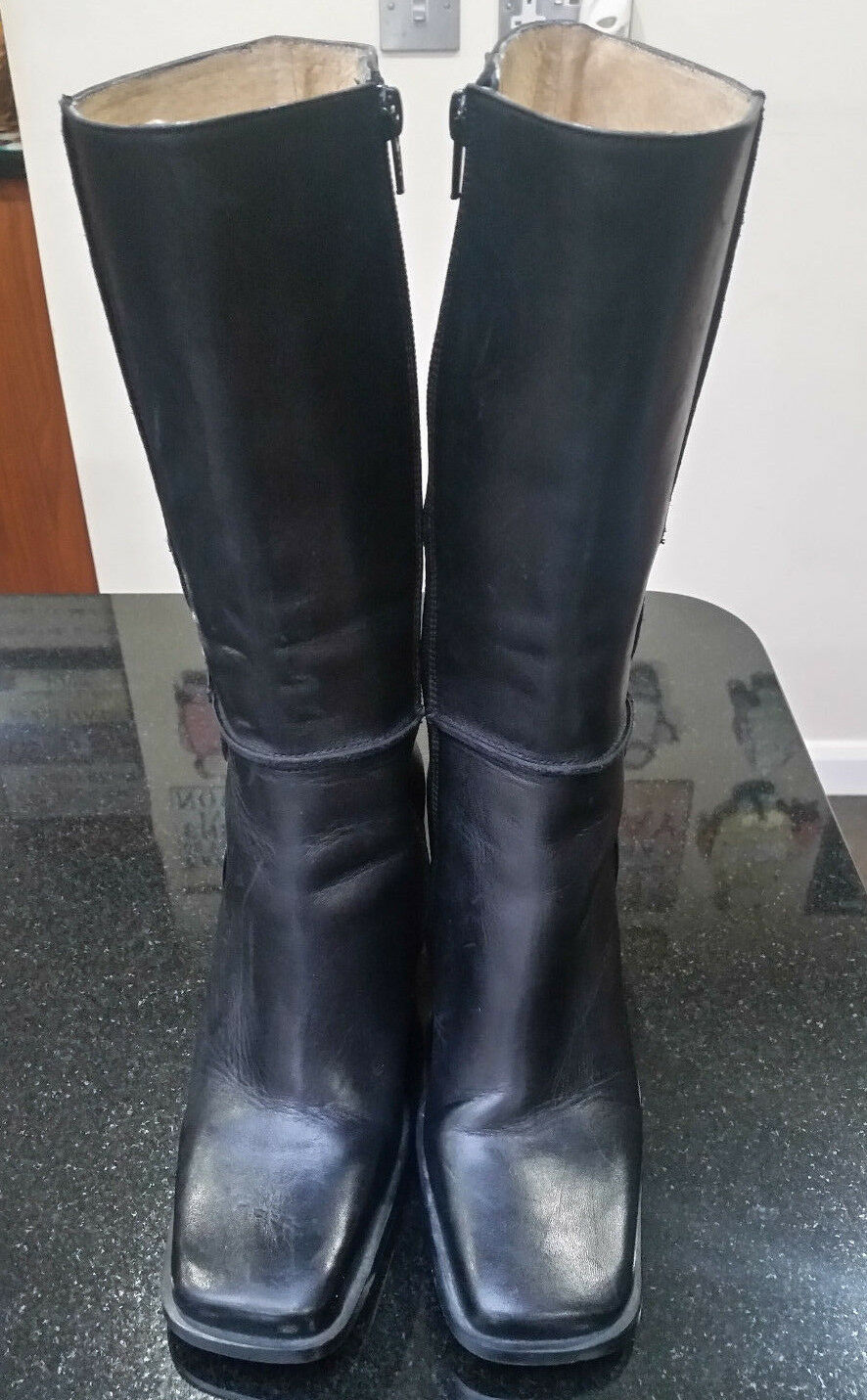 Women - Leather Boots by A.Gianatti. - Made in Italy - Women Size / Euro 38 6abd98