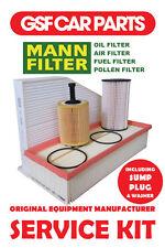 Service Kit Oil Air Fuel Pollen Filters Sump Plug VW Passat Cc 2.0Tdi 4Motion