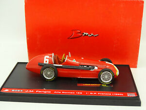 Brumm-1-43-Alfa-Romeo-158-Winner-France-GP-1950-Fangio