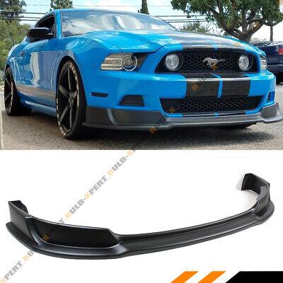 FOR 2013-2014 FORD MUSTANG GT V6 V8 LOWER FRONT BUMPER LIP SPLITTER CHIN  SPOILER   eBay