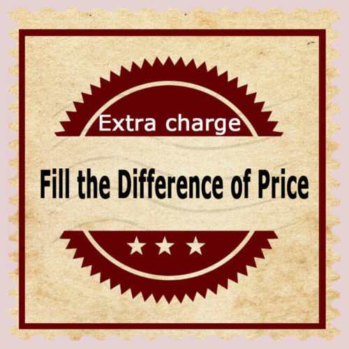 tailor-made item or shipping,Gift or others. `Make up the difference of price