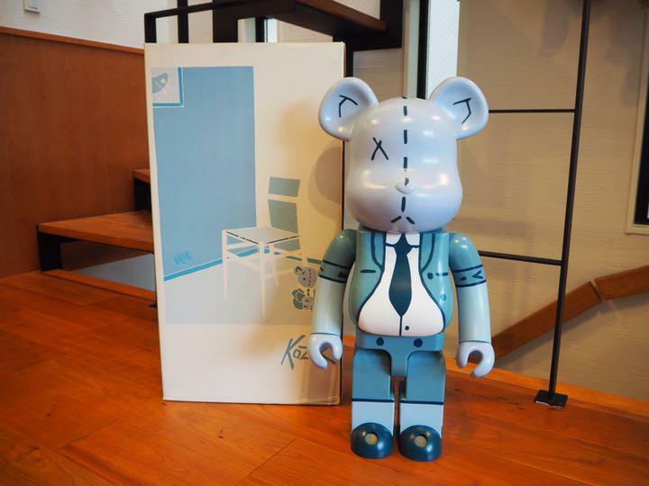 Medicom giocattolo BE@RBRICK 1000% Kozik cifra orsoBRICK kaws RARO 100% AUTENTICO