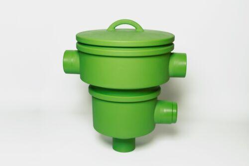 Korbfilter Gartenfilter mit Deckel Evo Basket Zisternenfilter Einbaufilter