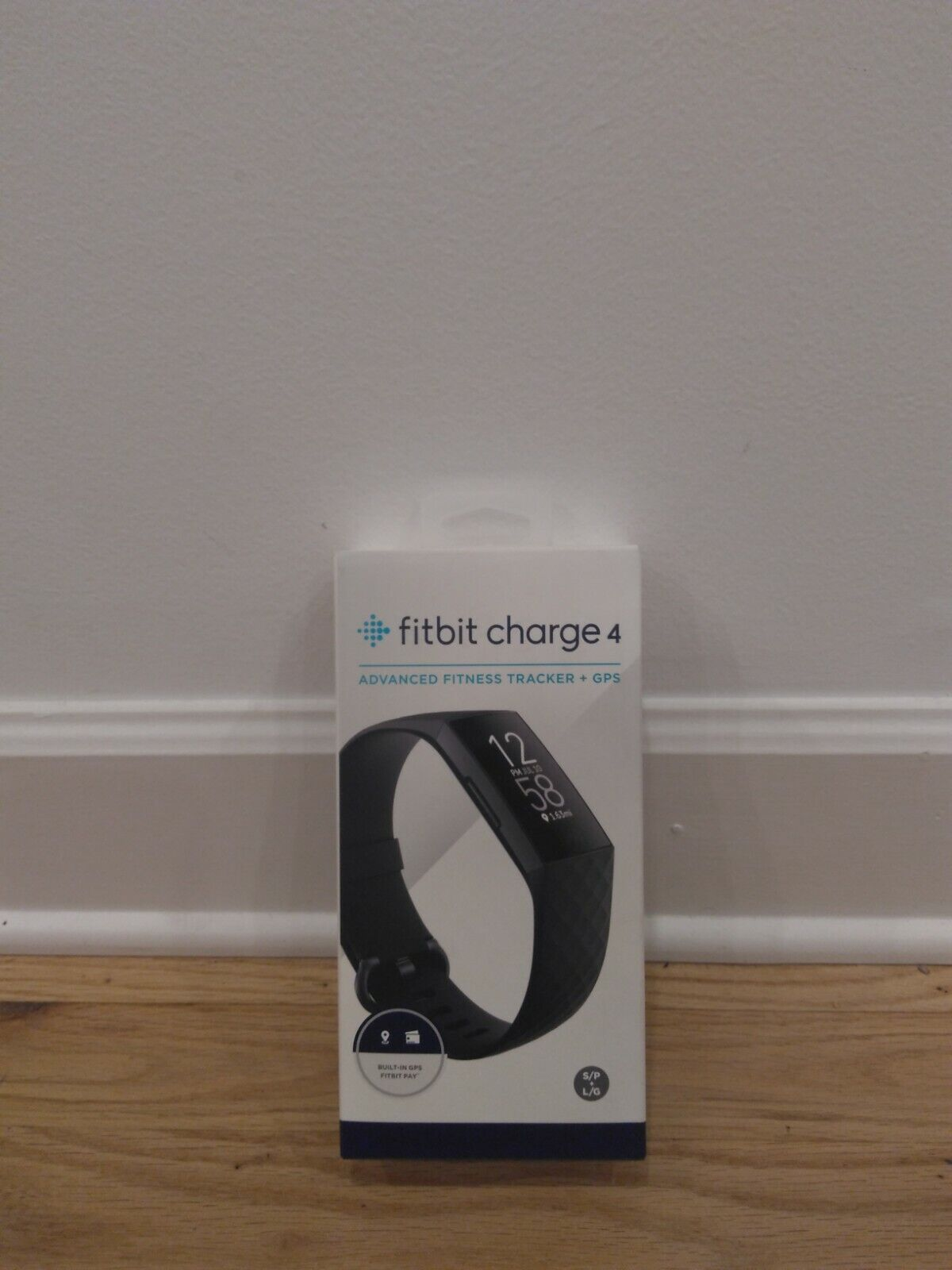 Fitbit Charge 4 Fitness Tracker + GPS - BLACK - RETURNED - PARTS OR NOT WORKING black charge fitbit fitness gps not parts returned tracker working