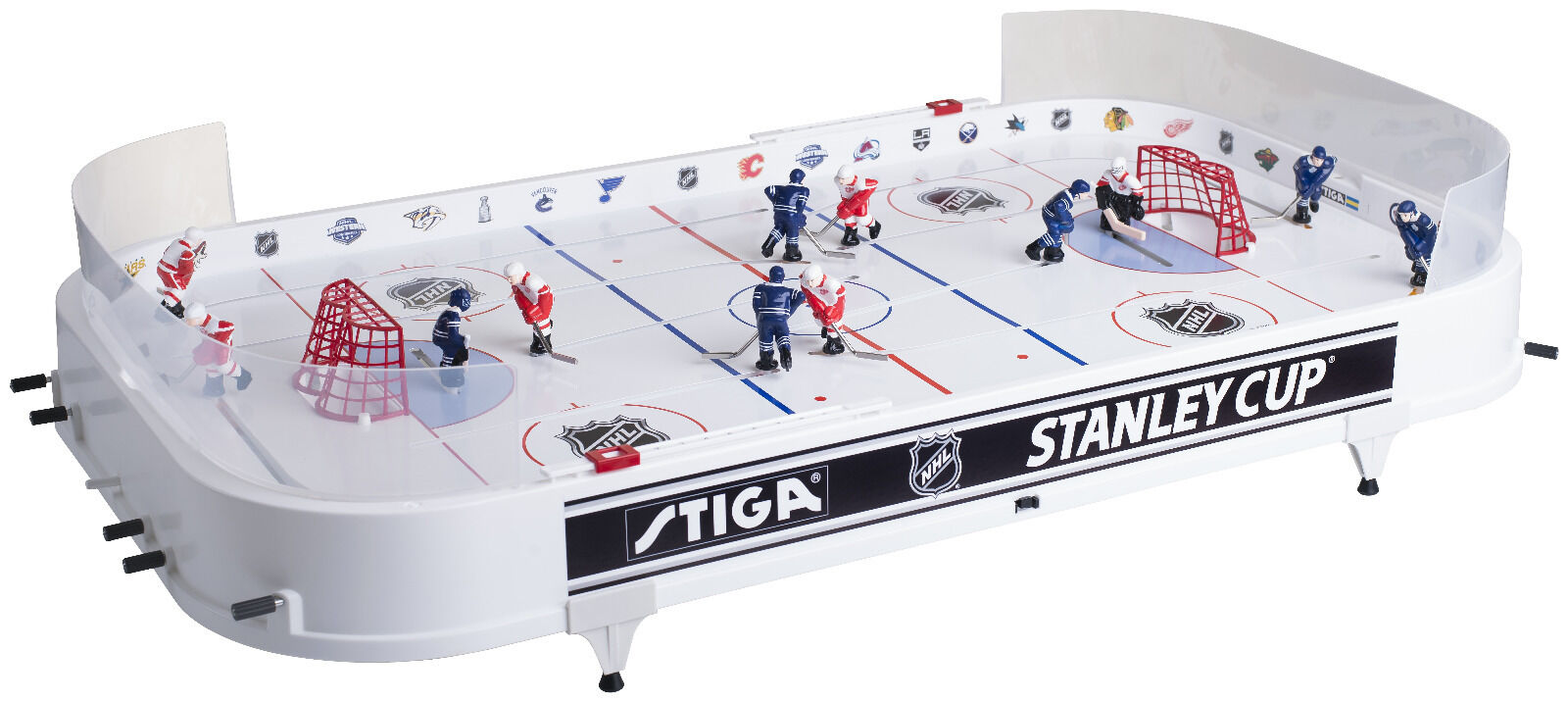 STIGA 37 In. NHL Stanley Cup Rod Hockey Table Top Game Sports ...