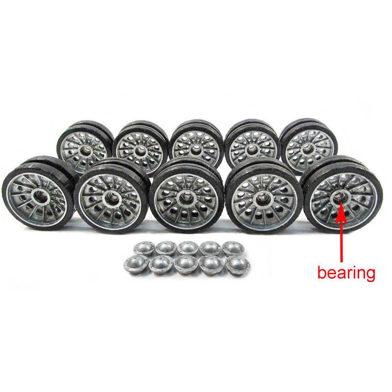 Mato Metal  strada ruedas Set With orsoing For 1 16 Henglungo T34 85 3909-1 RC Tank  più ordine