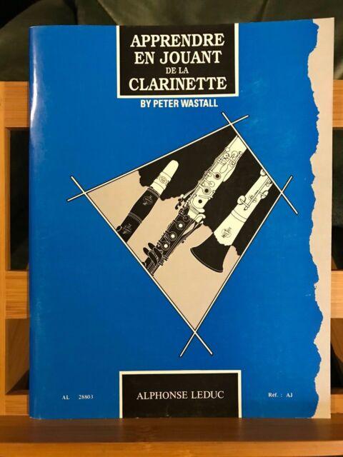 Peter Wastall Apprendre en jouant de la clarinette méthode éditions Leduc