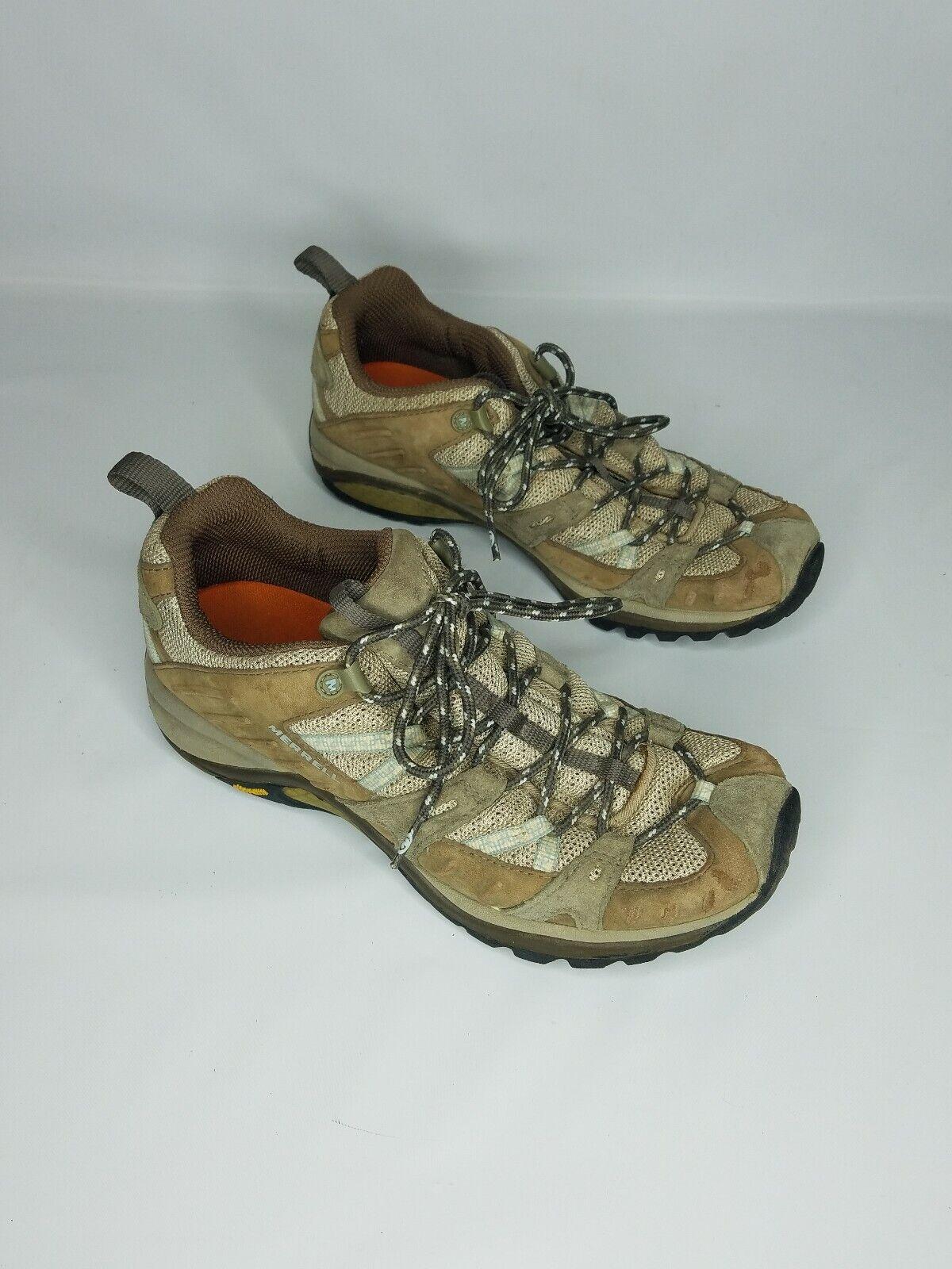 MERRELL Siren Sport Olive Trail Hiking shoes Womens Size 9  Vibram Soles