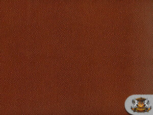 Vinyl Football Brown Fake Leather Upholstery Fabric By The Yard Ebay