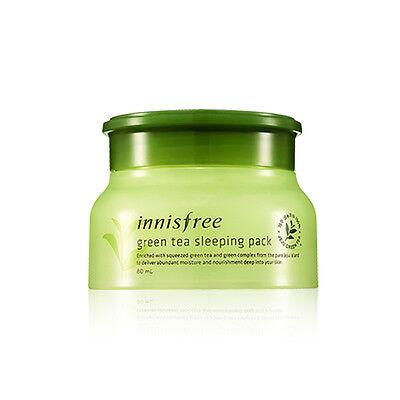 [INNISFREE]  New Green Tea Sleeping Pack 80ml - BEST Korea Cosmetic
