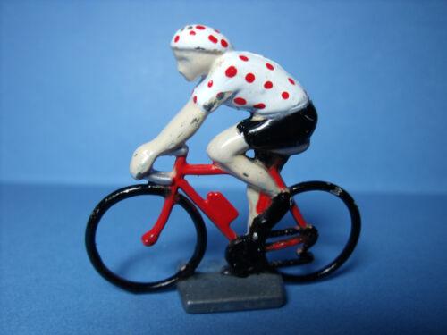 5  CYCLISTES  1//43  TOUR  DE  FRANCE  VROOM  A  PEINDRE  UNPAINTED  UNBEMALT