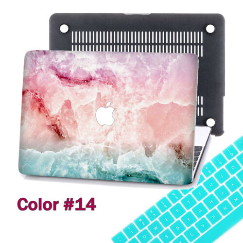 40 Colour Pattern Design Rubberized Hard Case+KB Cover+SP For Macbook Pro Air 13