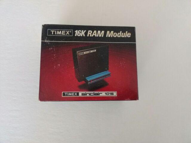 TImex Sinclair 1016, 16kRam Module Cartridge Vintage, In Orginial Box